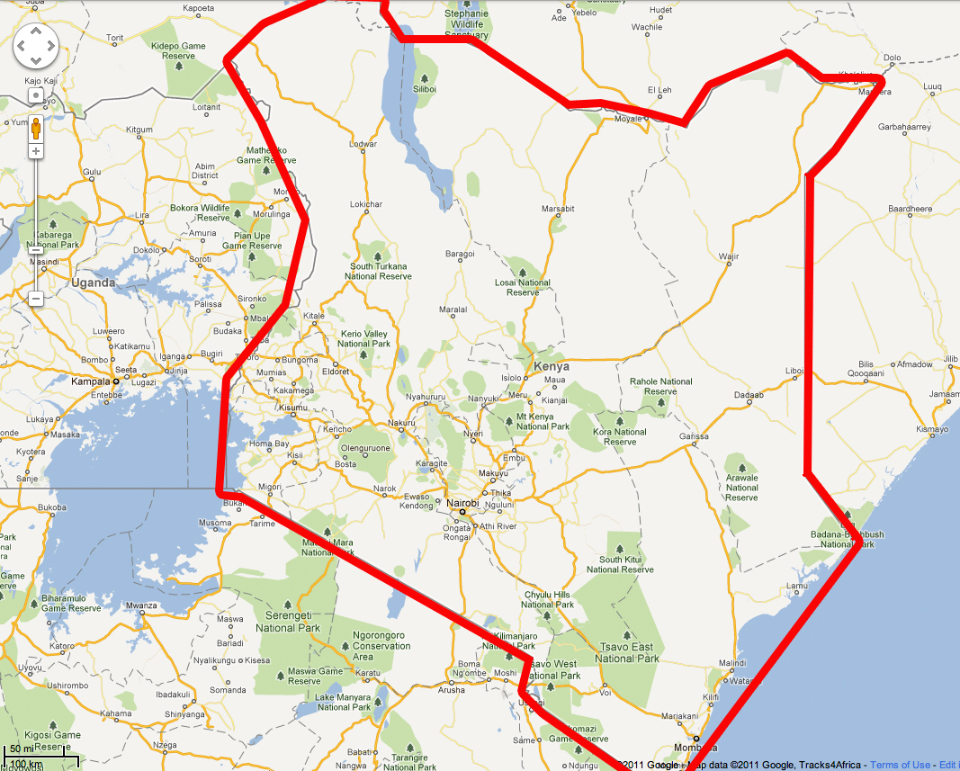 Report of kenya mission trip photos for november 27 message at st this map gumiabroncs Choice Image