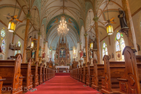 A tour of four painted churches near Schulenburg, Texas yielded these images.