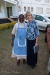 Sister Celine at the Roman Catholic guest house at which we stayed