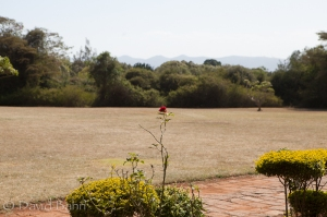 A view of the Knuckle mountains from the Karen Blixen Museum in Karen, Kenya (on the outskirts of Nairobi)