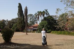 Diane at the Karen Blixen Museum in Karen, Kenya (on the outskirts of Nairobi)