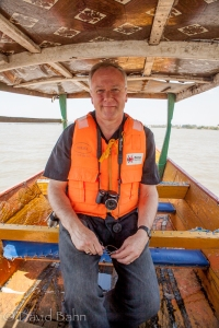From our boat ride onto Lake Victoria: Dr. Scott Rische, Director of PLI International