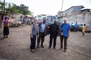 Our friends finally got to a bus that would take them to the Uganda/Kenya border.