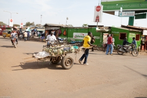 Another man-powered cart