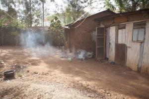 Our driver's home in Mamboleo