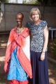 Diane with Lynet Kispen, wife of Bishop of the Central Diocese of the ELCK