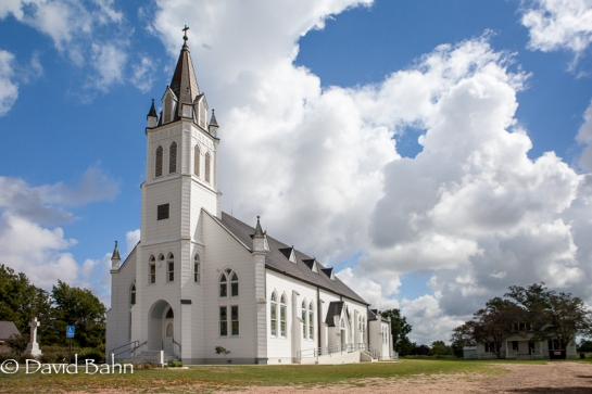 "One of the ""Painted Churches"" near Schulenburg, Texas"