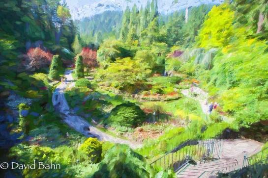 Butchart Gardens, Vancouver Island, Canada - June 2015