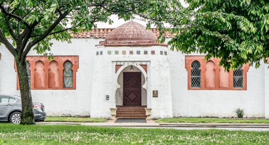 The B'nai Israel Synagogue building in Cape Girardeau, Missouri which now serves Lighthouse Church