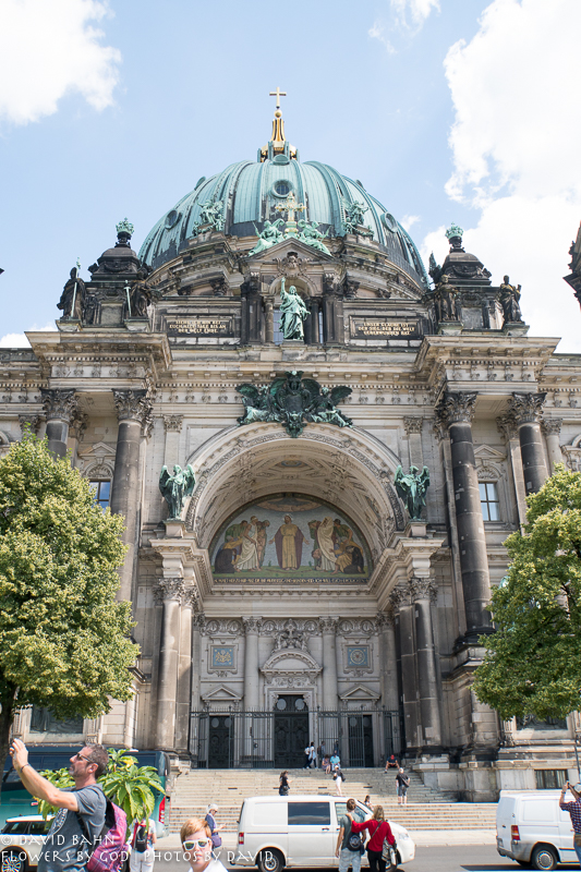 Berlin Dom, a Protestant Churh, and one of the largest churches in Berlin